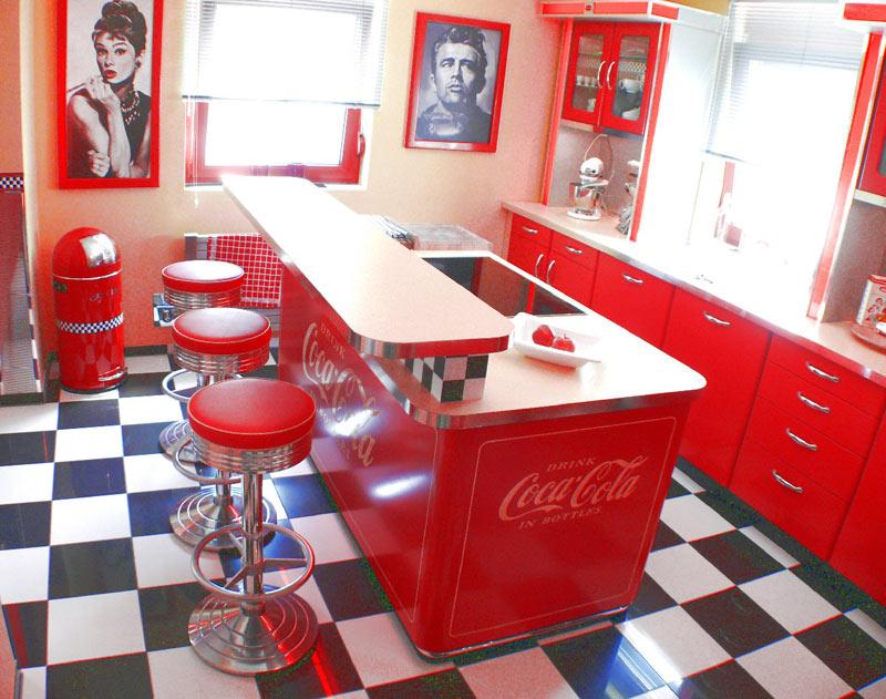 Diner Küche mit genial design für ihr haus ideen
