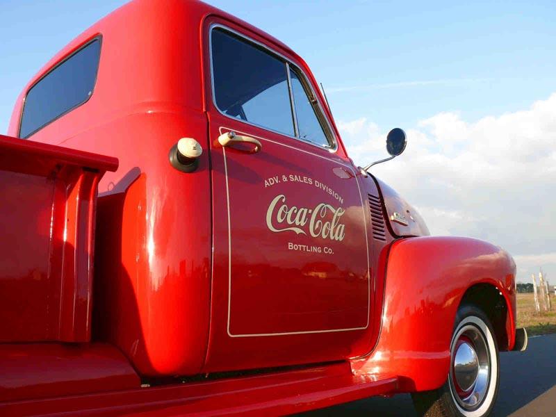 coca cola pick up truck als promotionfahrzeug mieten. Black Bedroom Furniture Sets. Home Design Ideas