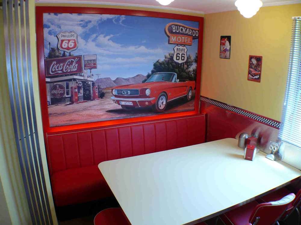amerikanische küchen retro küche nostalgie küchenmöbel