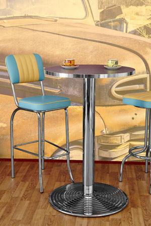 diner m bel im american diner style dinerb nke tische oder theken. Black Bedroom Furniture Sets. Home Design Ideas
