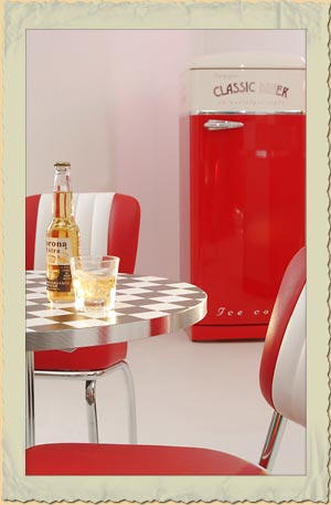 american diner tische nach ma im authentischen 50er jahre look. Black Bedroom Furniture Sets. Home Design Ideas