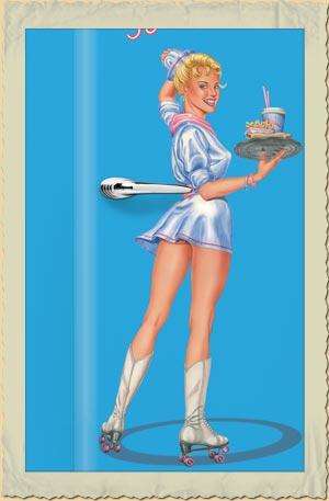 Kühlschrank Amerikanischer Stil : amerikanischer retro k hlschrank der 50er jahre in hellblau ~ Pilothousefishingboats.com Haus und Dekorationen