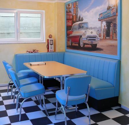 American Diner Eckbank   Die schönsten Einrichtungsideen