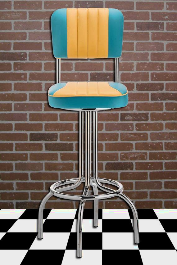 Amerikanische dinerbarhocker usa objekteinrichtungen for Barhocker usa