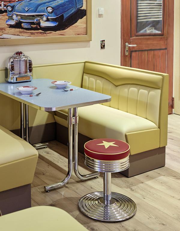 barhocker classic diner 48. Black Bedroom Furniture Sets. Home Design Ideas