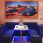 Wandbild Ueber Dinerbaenke
