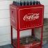 Coca Cola Kühlbox Mit Flaschen & Deko