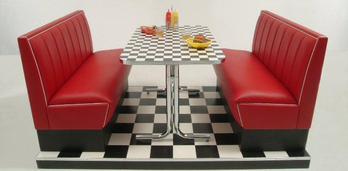 American diner m bel im retro stil kaufen american for Amerikanische sofas