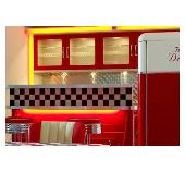 Fünfzigerjahre Küche Diner Stil