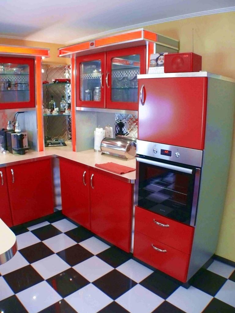 Amerikanische Küchen: Retro-Küche & Nostalgie Küchenmöbel