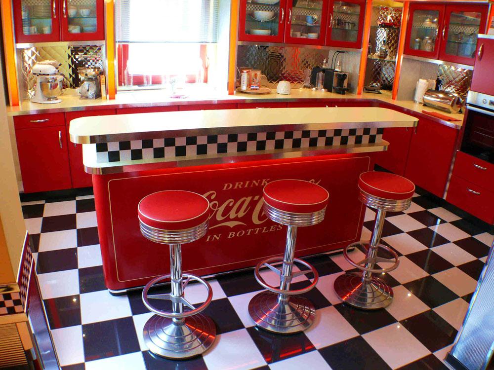 Die Classic Diner Einrichtung Auch Für Gewerbliche Räume.  Dinerkueche_firmenhalle0004. Dinerkueche_firmenhalle0006