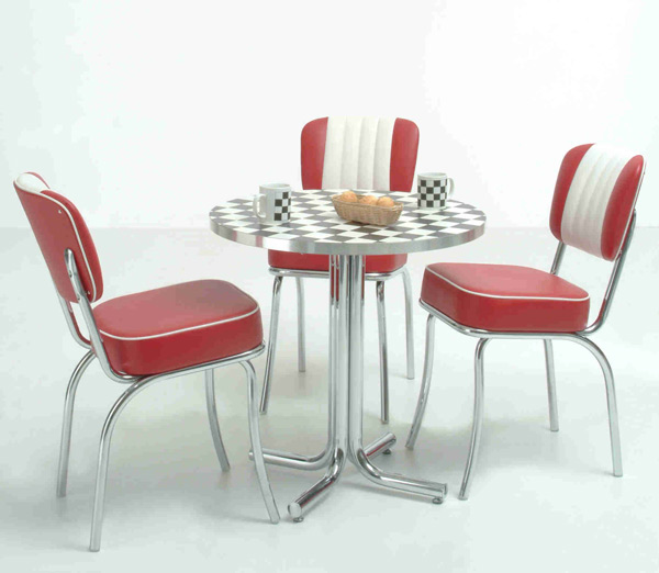 Diner Möbel im american Diner Style: Dinerbänke, Tische oder Theken