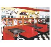 50er Jahre Style Restaurant Möbel und Gastronomieeinrichtung bei American Warehouse