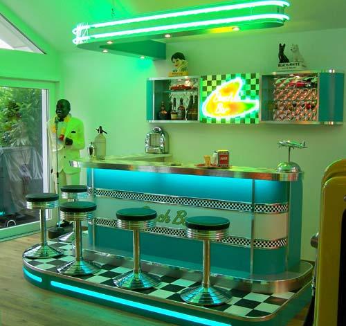 amerikanische theken bars im american style der 50er jahre. Black Bedroom Furniture Sets. Home Design Ideas