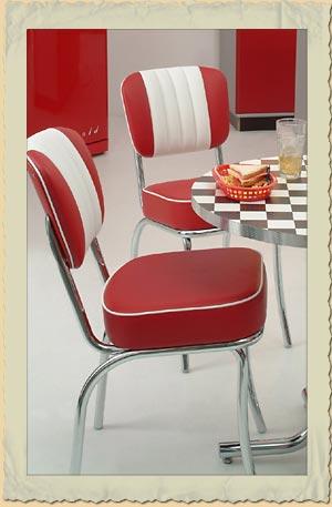 Diner Stuhle Im American Diner Chair Look Der 40er 50er 60er Jahre