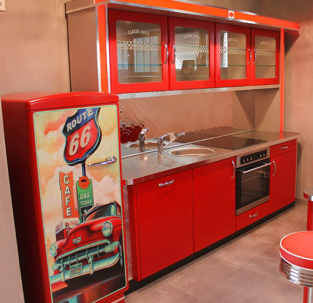 Classic Diner Küche im Route 66 Style | American Warehouse
