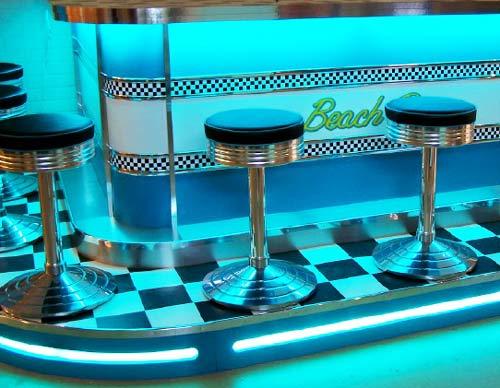 50er jahre lampen neon leuchtstoffr hren f r theken bars. Black Bedroom Furniture Sets. Home Design Ideas