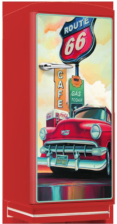 Kühlschrank Amerikanisches Design amerikanischer kühlschrank retro nostalgie kühlschränke