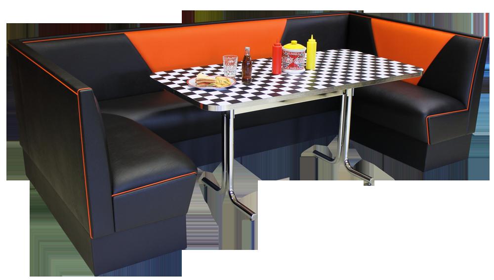 Modern Diner Sitzgruppen : Diner sitzgruppe eckbank nach maß
