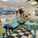 50er Jahre Diner als Pausenraum
