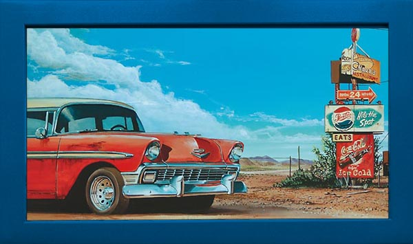 Bel Air in Desert Wandbild