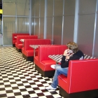8 M Lange Dinerboothreihe