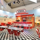 American Diner Messestand in Cooperation mit: SPECTRAM.E.D. Messe & Event Design GmbH München
