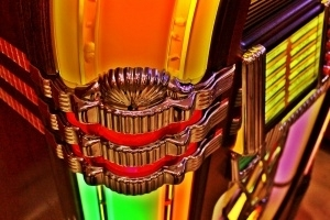 Wurlitzer Jukebox One More Time Detail 10