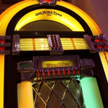 Wurlitzer One More Time Musikbox Detail 1