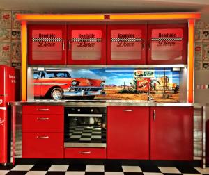Roadside Diner Küche