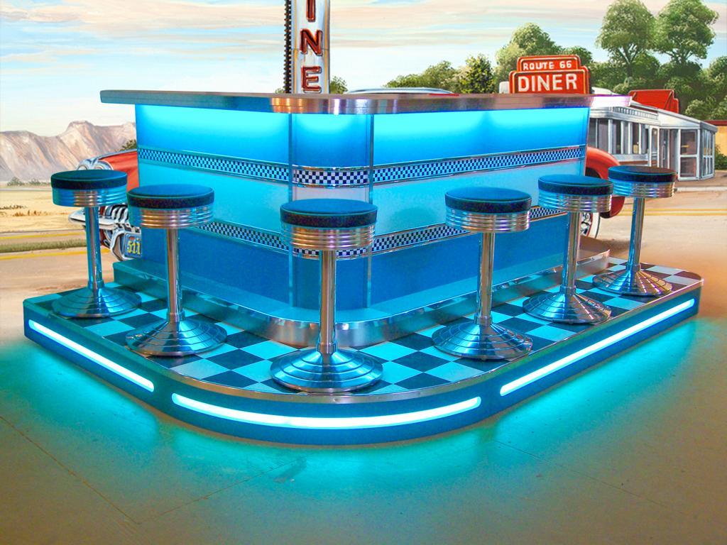 Blue Dinerbar