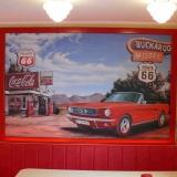 Wandbild-mit-Kundenauto